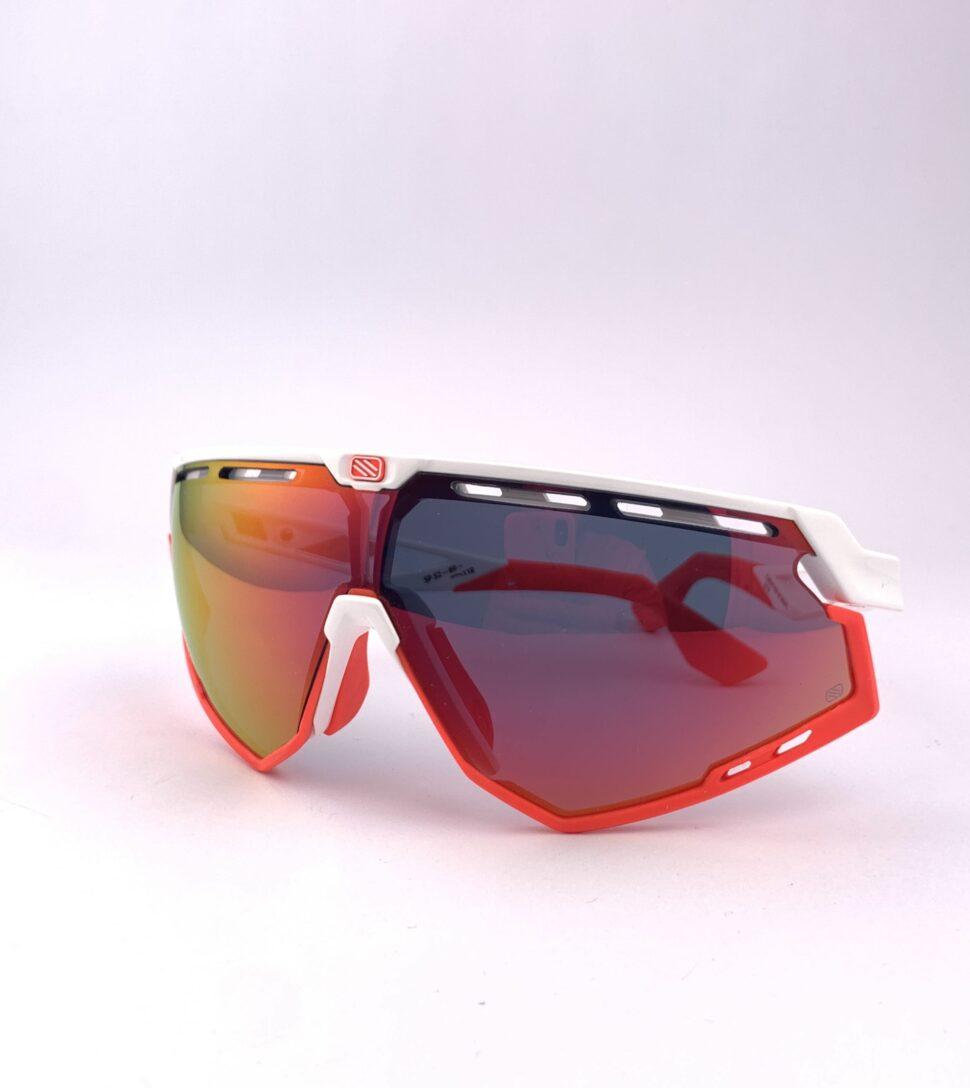 Cyklistické okuliare Defender červené