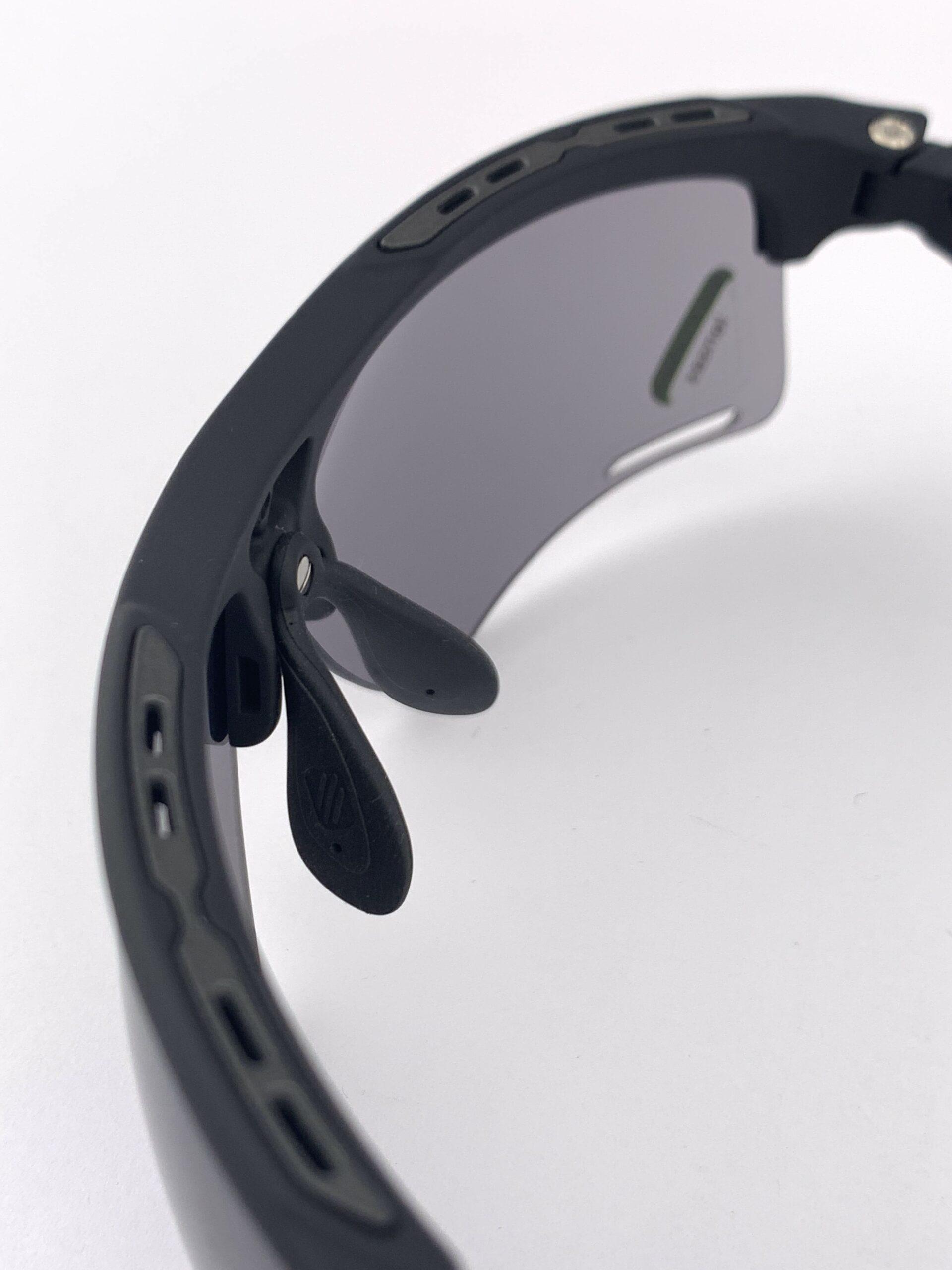Cyklistické okuliare Keyblade čierne zhora
