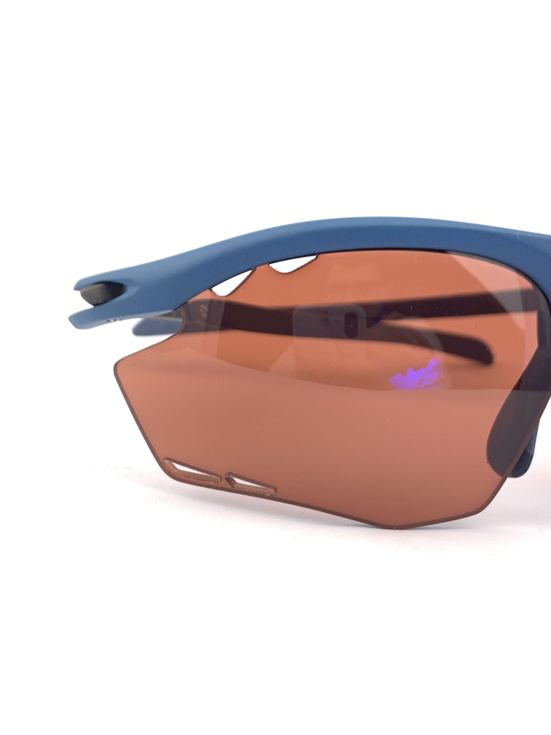Cyklo okuliare Rydon modré detail