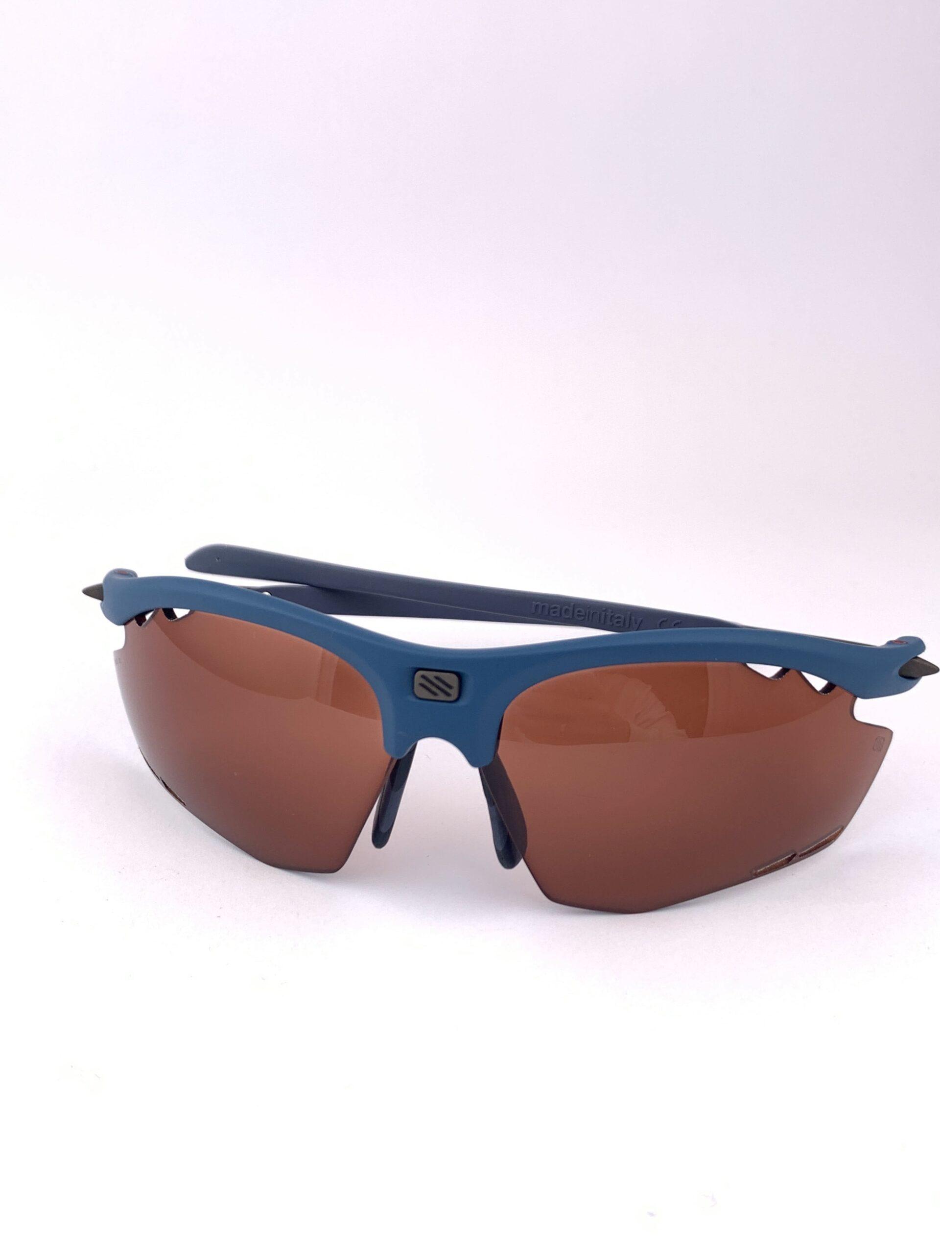 Cyklo okuliare Rydon modré zatmavené