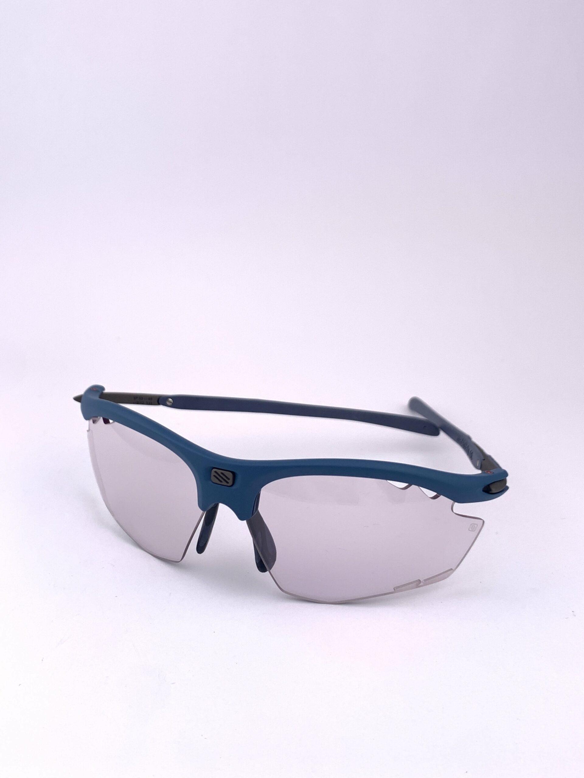 Cyklo okuliare Rydon modré zboku