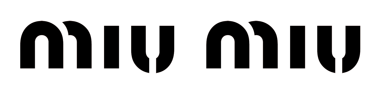 Okuliare Miu Miu logo