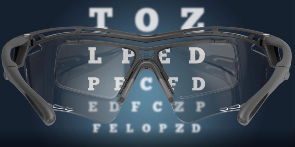 Športové dioptrické okuliare